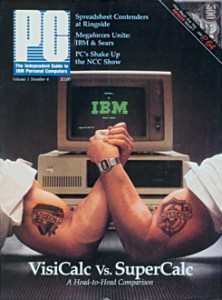 Visicalc-vs-Supercalc PC Mag Cover