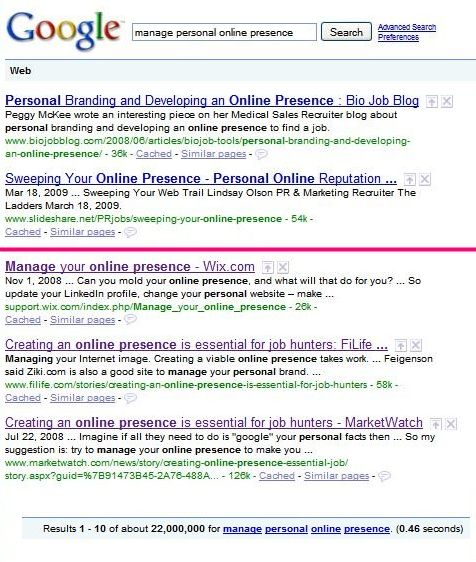 google-results-manage-personal-online-presence