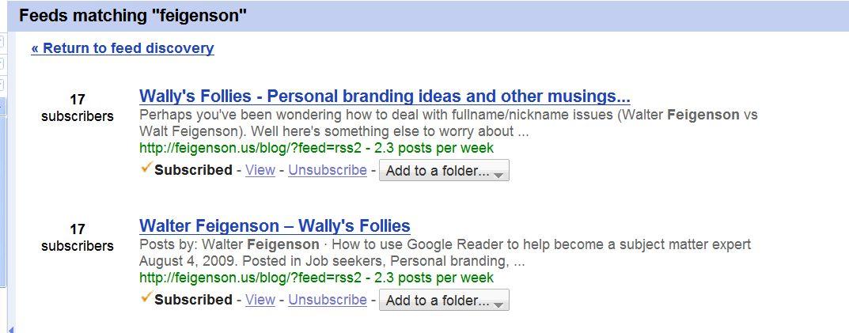 GoogleReader-feed-search